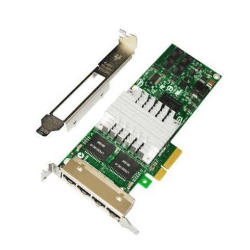 card mạng card intel pro/1000 pt quad port low profile product khoserver