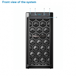 server dell poweredge t140 front khoserver