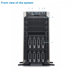 server dell poweredge t340 front khoserver