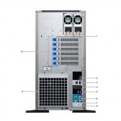 server dell poweredge t440 back khoserver