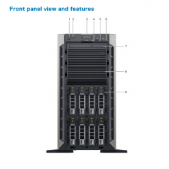 server dell poweredge t440 front khoserver